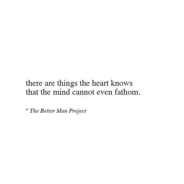 there are some things the heart understands #quote #quotes