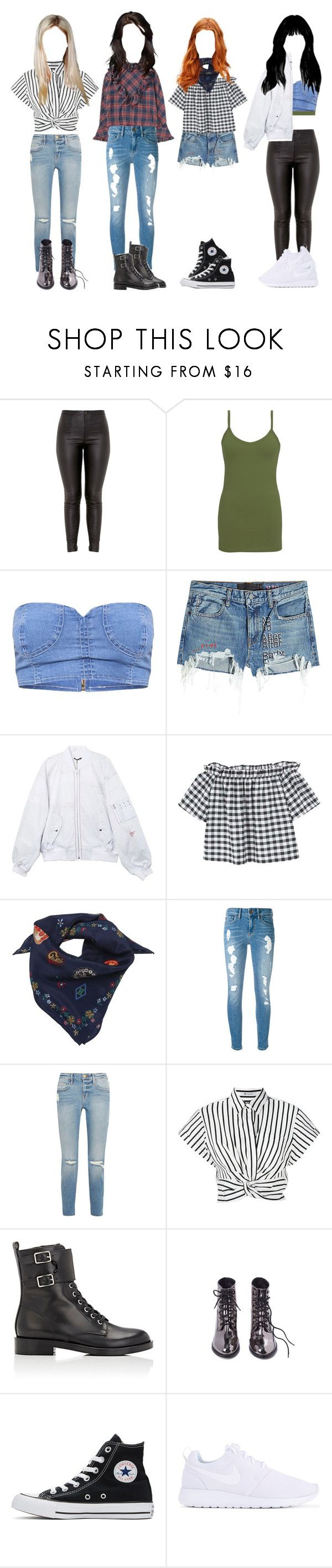 """Hometown Heroes EP.10: Suwon, Korea(Navigation Challenge Pt.2)"" by epilxgue ❤ liked on Polyvore featuring BKE core, T By Alexander Wang, MANGO, Tommy Hilfiger, Frame, Gianvito Rossi, Converse and NIKE"