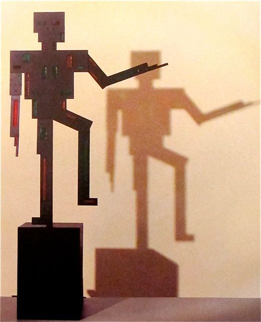 "Vilmos Huszár  ""Mechanical Dancing Figure""  1920"