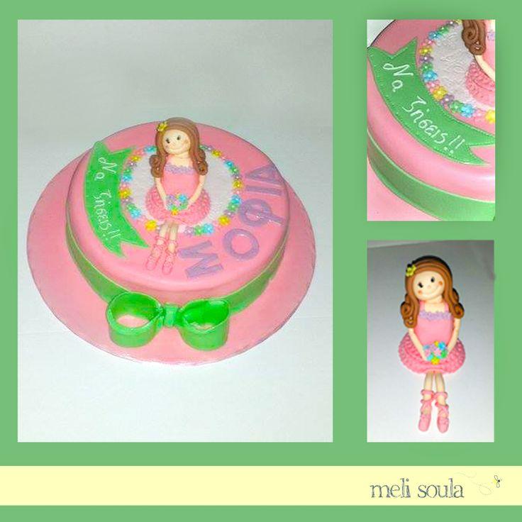 #Princess gilr's #birthday #cake