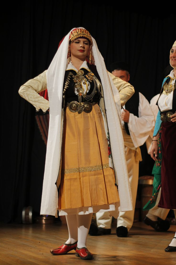 Traditional bride's costume from Pogoni (Epirus, northern Greece).