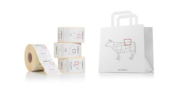 Meat And Cheese Packaging That Shows Which Animal Parts It Contains - DesignTAXI.com