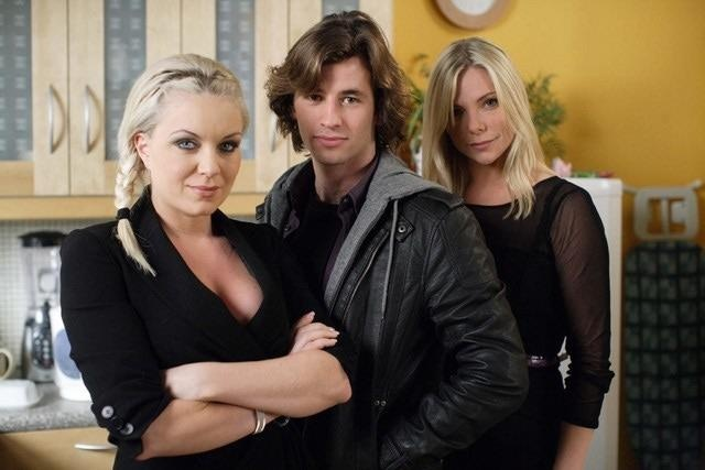 Roxy, Danny and Ronnie Mitchell