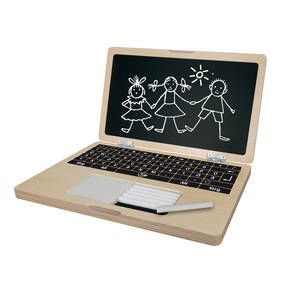 Holz-Laptop