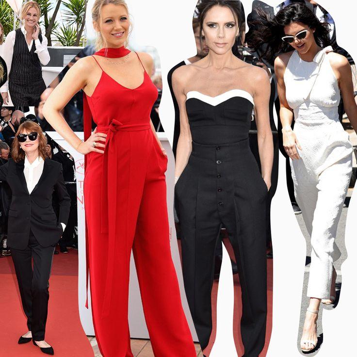 Sim, os 'jumpsuits' e calças estão dominando o 'Red Carpet'!!! Celebs comoJulia Roberts, Susan Sarandon, Blake Lively, Victoria Beckham e Kendall Jenner investiram na 'trend' e ARRASARAM essa semana em Cannes. #reginasalomao #Cannes2016 #LifeStyleRS #TrendAlert #Jumpsuits