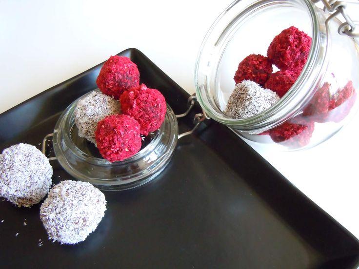 Trufe cu zmeura reteta // Raspberry truffles recipe