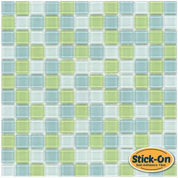 Mineral Tiles   Peel And Stick Glass Tile Classic Lime Blend, $9.95 (http: Part 59