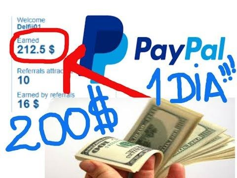 Como ganar dinero Fácil y Rápido hasta 250 $$$  Dolares en un Día y reti...