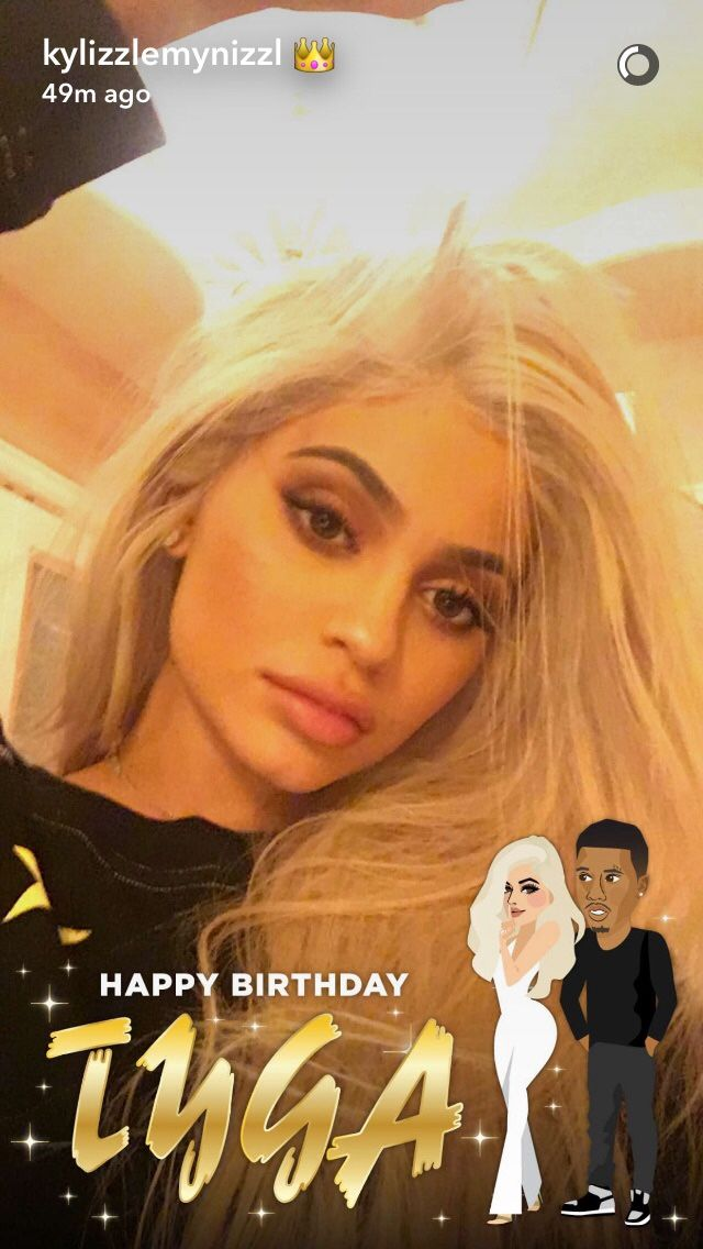 November 18th, 2016 - Kylie Jenner via Snapchat