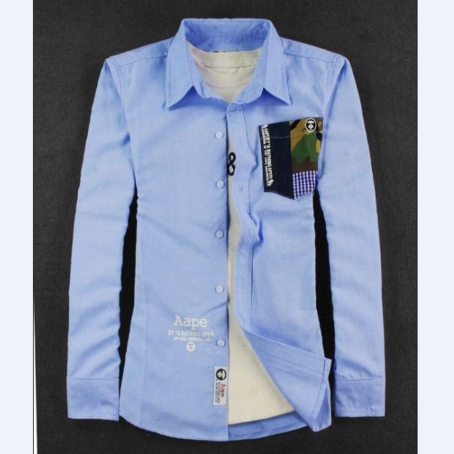 Find More Casual Shirts Information about 2014  Mens Slim Fit Casual Blouse Unique Neckline Stylish Long Sleeve Shirt Turn down Collar Men's Shirts,High Quality Casual Shirts from Shenzhen Smile Trade Electronic Co. Ltd. on Aliexpress.com