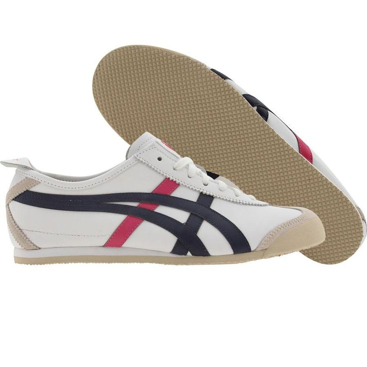 new products 19dda dc44f where can i buy asics onitsuka tiger mexico 66 white blue ...