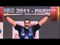 Behdad Salimi 214kg Snatch World Record - 2011 World Weightlifting Championship