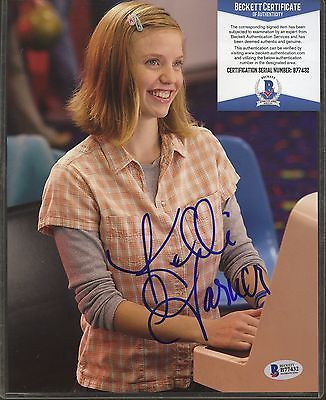 Celebrity Autographs: B77432 Kelli Garner Signed 8X10 Photo Beckett Bas Coa Auto Autograph -> BUY IT NOW ONLY: $19.97 on eBay!