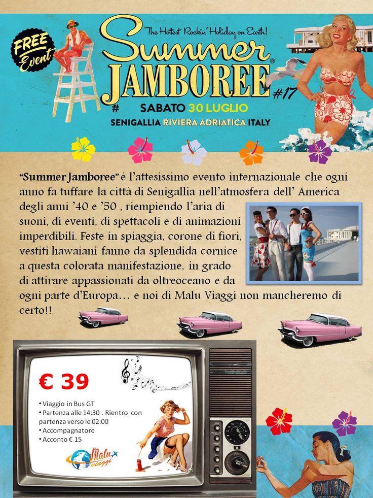Partecipa insieme a noi all'evento dell'anno! Tuffati nell'America degli anni '40 e '50! Summer Jamboree: Sabato 30 Luglio!