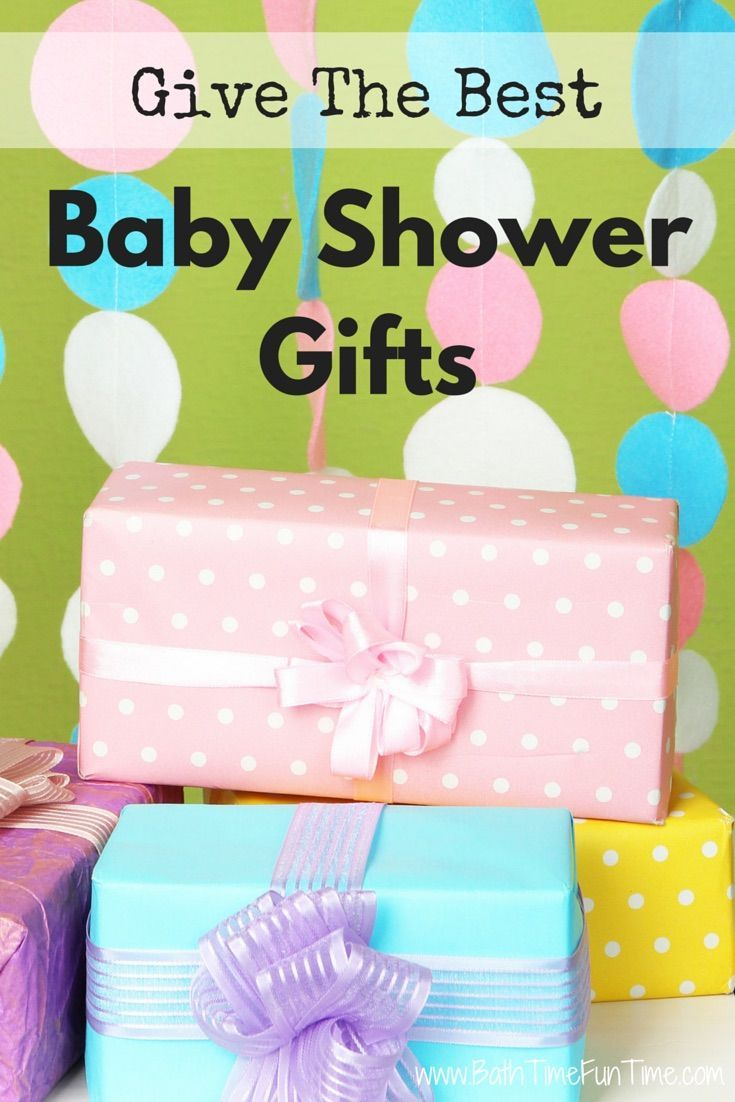 Looking for the best baby shower gifts? Here you will find a baby shower gift for every budget, some are personalized & even handmade. If you are planning ahead or know the baby's name already, personalizing your gift makes it beautiful & thoughtful. Waited until the last minute to buy the baby gift? No problem - some of these can be ordered from Amazon to be delivered right away! Here are the best baby shower gifts: http://www.bathtimefuntime.com/best-baby-shower-gifts/