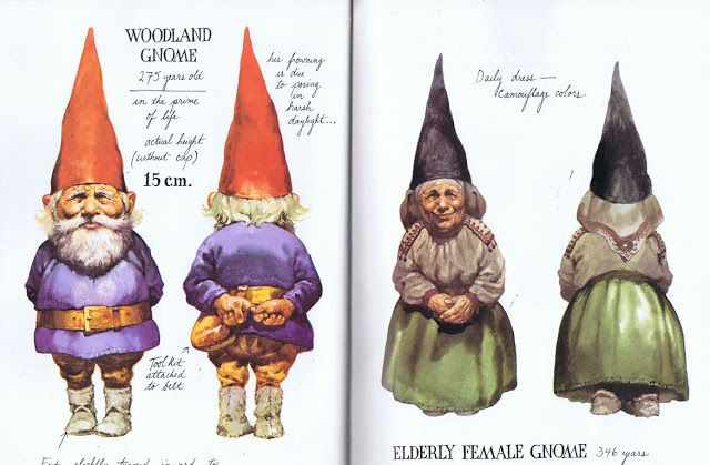 Gnomes the Book, first published in Dutch in 1976 as Leven en werken van de kabouter