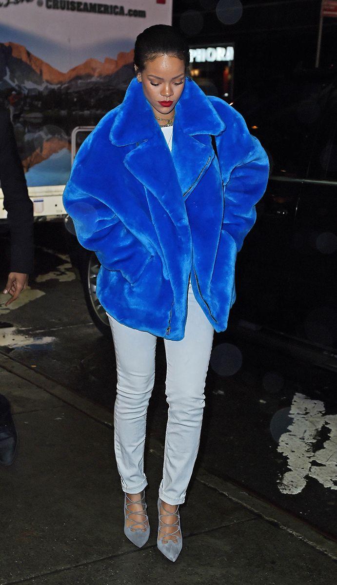 10 Best Dressed: Week of January 5, 2015 – Vogue, Rihanna