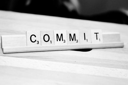 """What does it mean to """"commit""""? http://alacartespirit.com/2012/05/06/what-does-it-mean-to-commit/"""