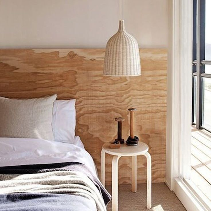 DIY sänggavel i plywood – Husligheter