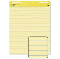 Post-It Self-Stick Easel Pads, Lined, 30 Sheets per Pad, Yellow, 2pk.