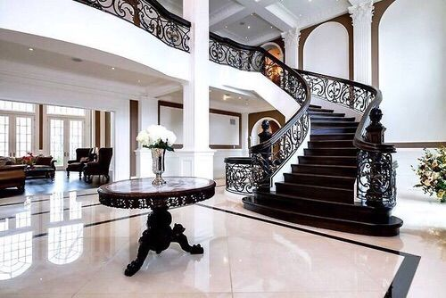 Image via we heart it beautiful big chic classy - Decoration interieur villa luxe ...
