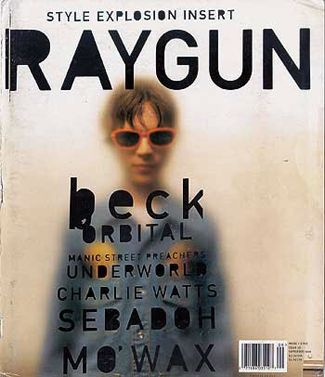 Magazine Design Inspiration - MagSpreads: Ray Gun - Covers and Spreads