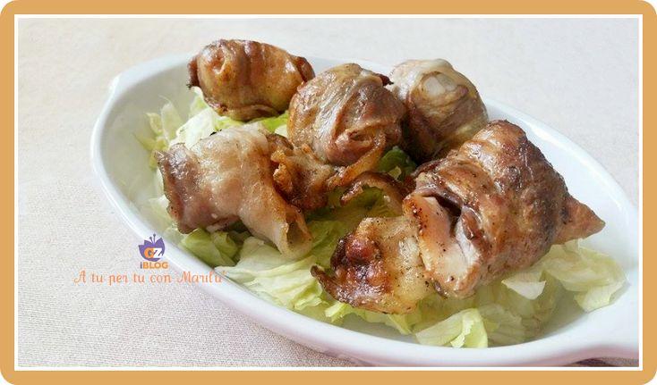 Bocconcini BBQ sono delle deliziose pepite di pollo avvolte nella pancetta, aromatizzate e piccanti e ti faranno rimanere a bocca aperta per la divina bontà