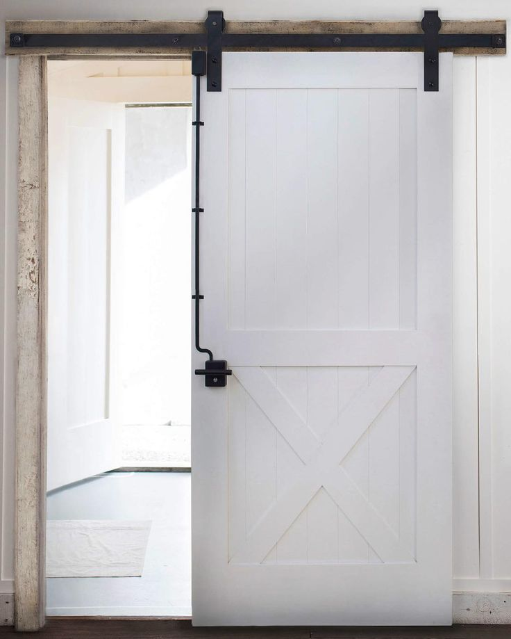 Introducing the rustica door lock we 39 ve pioneered the for Exterior sliding barn door hardware