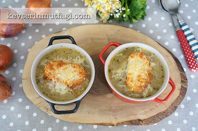 Fransız Soğan Çorbası Tarifi | Kevserin Mutfağı - Yemek Tarifleri