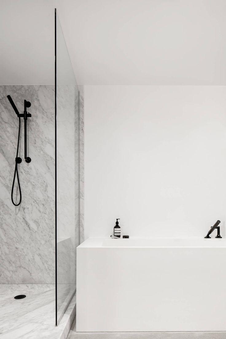 Bathroom   Apartment Saint-Laurent by Atelier Barda   est living