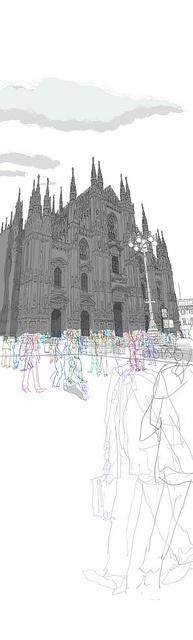 Milan Duomo, 2011 - Rupert Van Wyk.