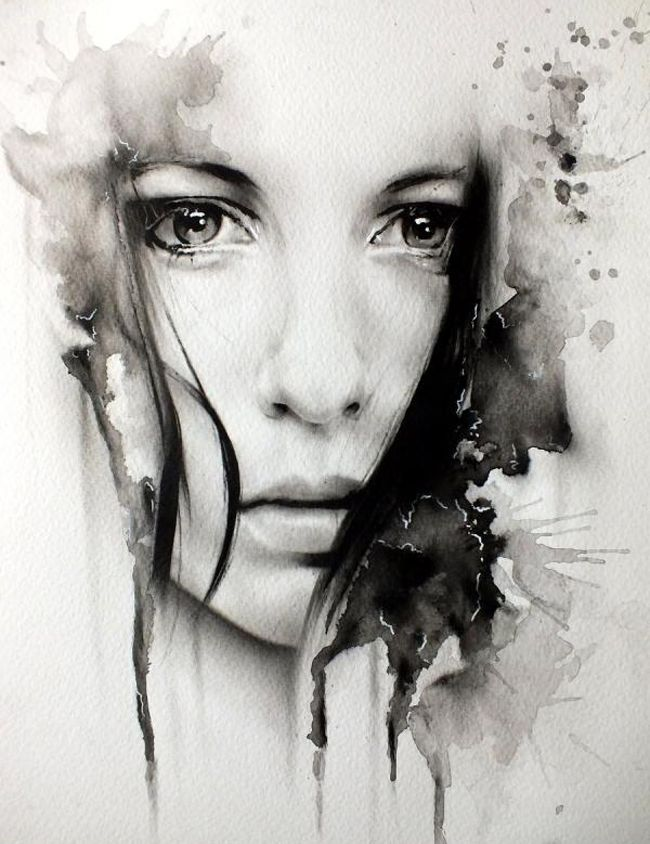 An amazing artist, an amazing painting... fall in lovoe for this beutiful face made by Glen preece