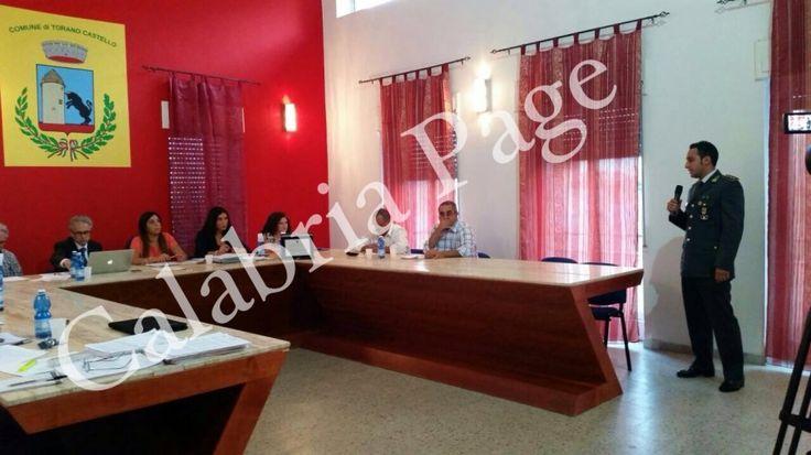 Torano Castello: Encomio Solenne agli uomini della Guardia di Finanza di Cosenza