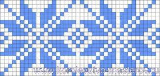 Картинки по запросу узоры на варежки схемы