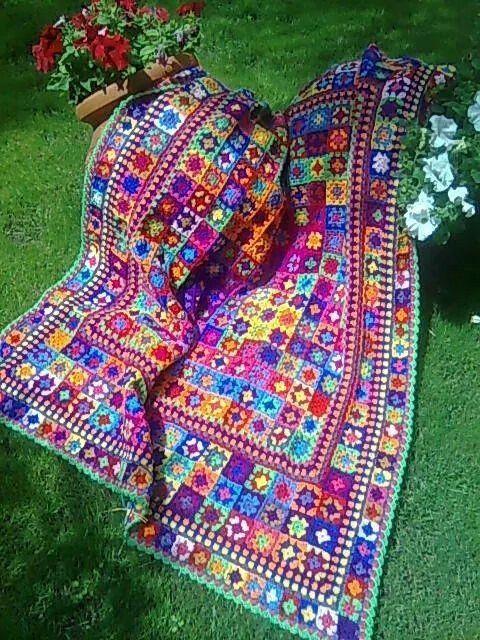 Scrap blanket