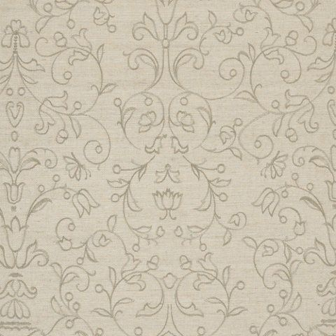 Great Chamber Embroidery - Oyster - Natural Weaves - Wallcovering - Products - Ralph Lauren Home - RalphLaurenHome.com