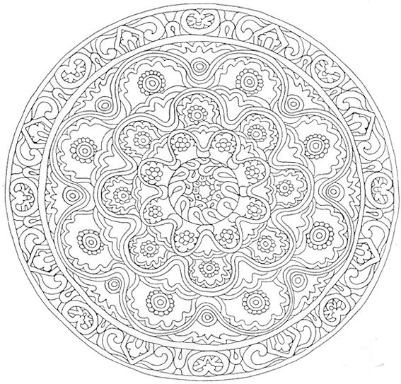 coloriage mandala dessins et images mandala gratuits. Black Bedroom Furniture Sets. Home Design Ideas