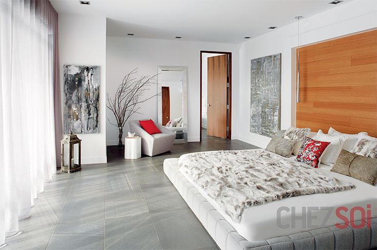 Une maison fonctionnelle | CHEZ SOI Photo: ©TVA Publications | Yves Lefebvre #deco #maison #chambre