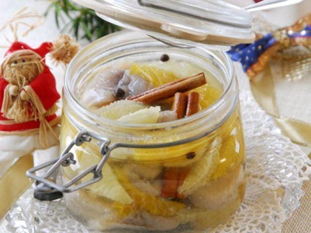 Julkryddad citrussill