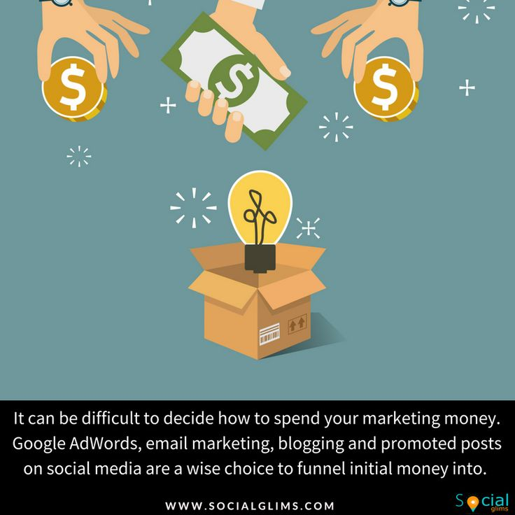 It can be difficult to decide how to spend your marketing money. Google AdWords, email marketing, blogging and promoted posts on social media are a wise choice to funnel initial money into. Google searches are one of the top ways that customers find new businesses today, therefore, funneling marketing dollars into AdWords can be extremely effective.   #socialmediatips #strategy #contentTips #contents #marketing #socialmedia #socialmediamarketing #socialglims #mydubai #dubai #expo2020