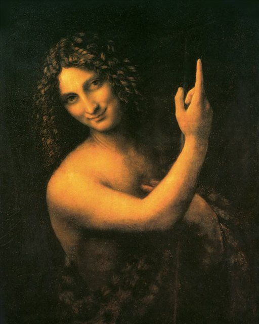 Иоанн Креститель ::  Леонардо да Винчи - да Винчи, Леонардо
