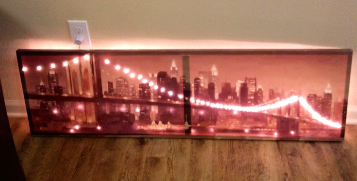 17 Best images about Back Lit canvas on Pinterest Stencils, Extension cords and Canvas wall art