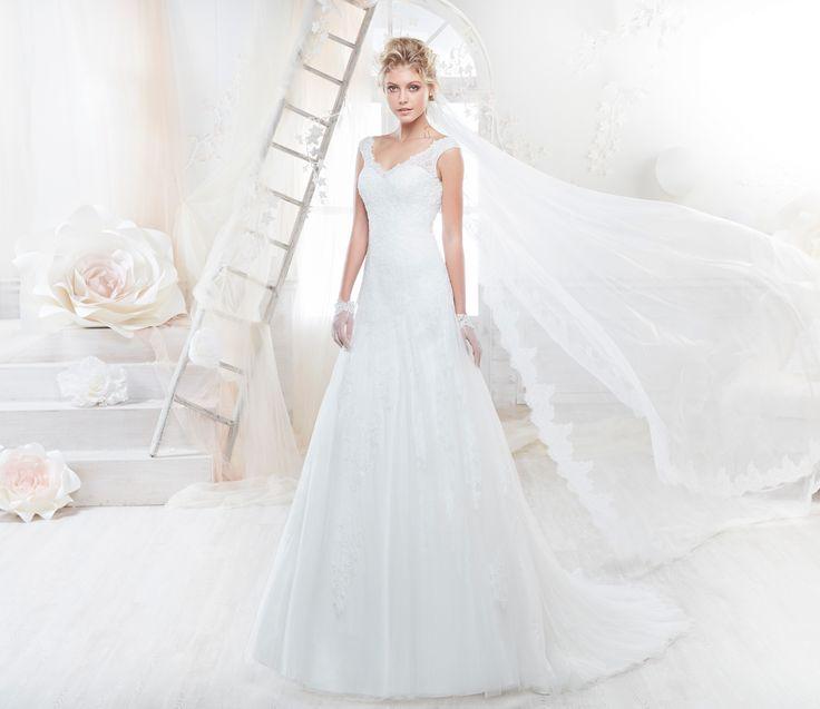 Moda sposa 2018 - Collezione COLET.  COAB18225. Abito da sposa Nicole.