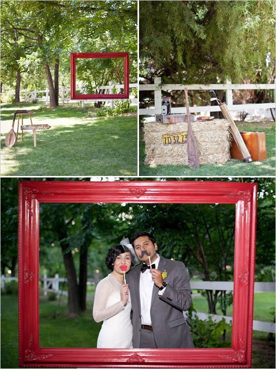 Another great idea for a DIY photobooth