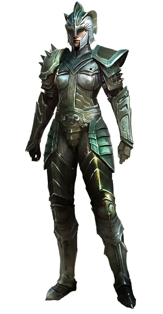 Heritage Armor from Guild Wars 2- And people say that girls