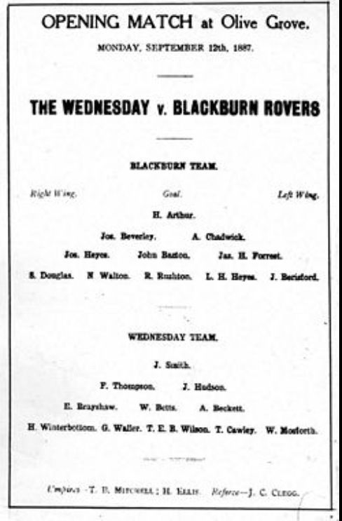 ~ Blackburn Rovers ~ vintage poster