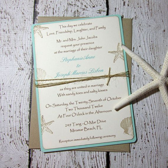 Best 25 Beach Invitations Ideas On Pinterest Beach Wedding