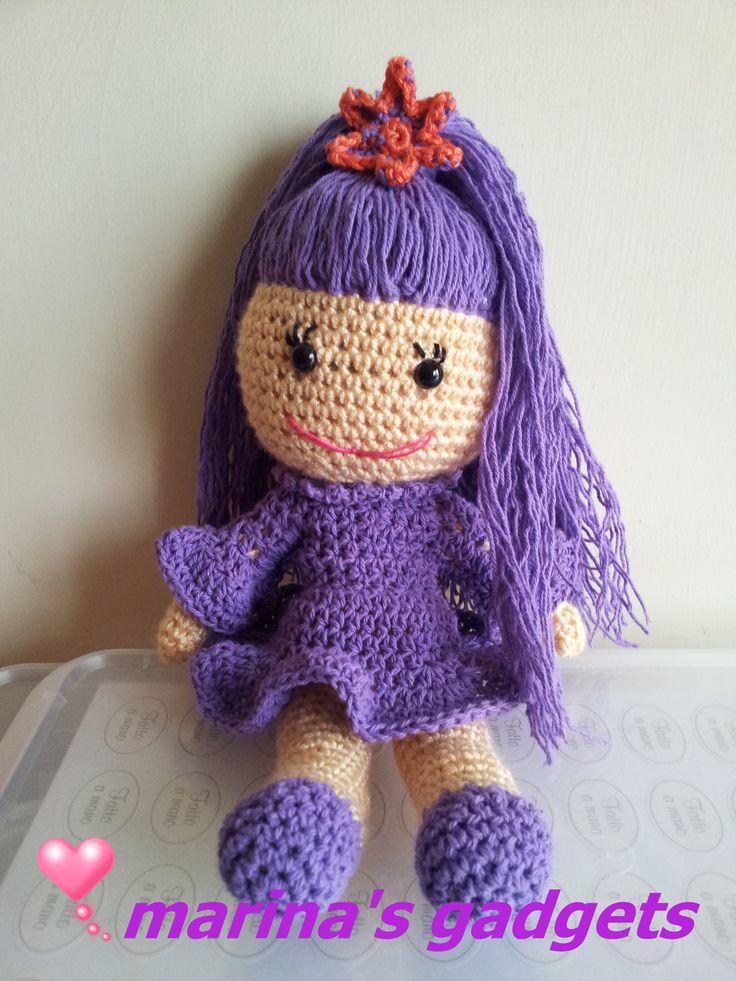 Bambolina Amigurumi Amigurumi Schema Di Violetta Disney ...