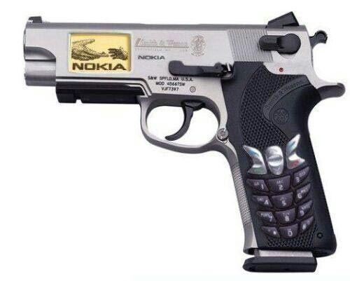 Pistol handphone