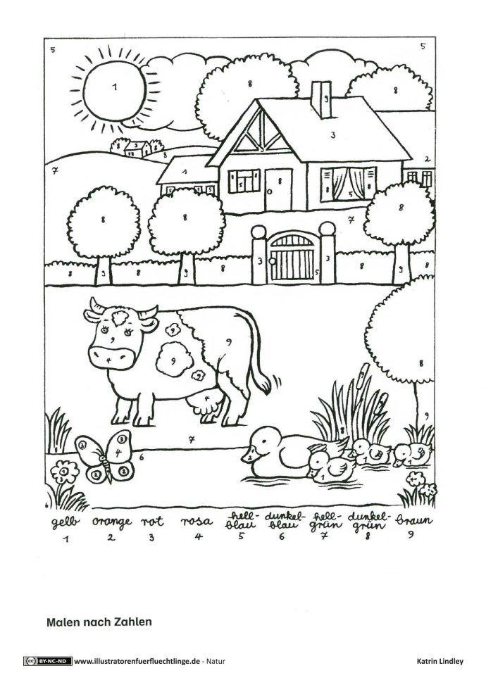 Pin Von Johanna Luisa Auf Kindergarden Because I M A Nursery Teacher Kuhe Malen Kuh Zeichnung Bauernhof Tiere